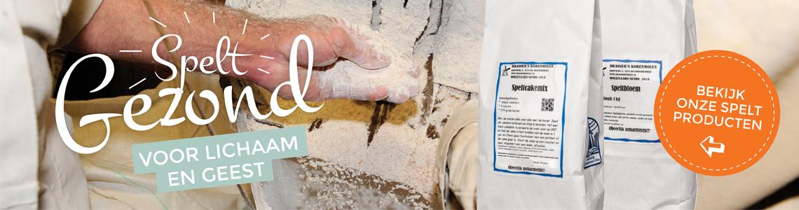 Speltmeel bij Brassere's Korenmolen