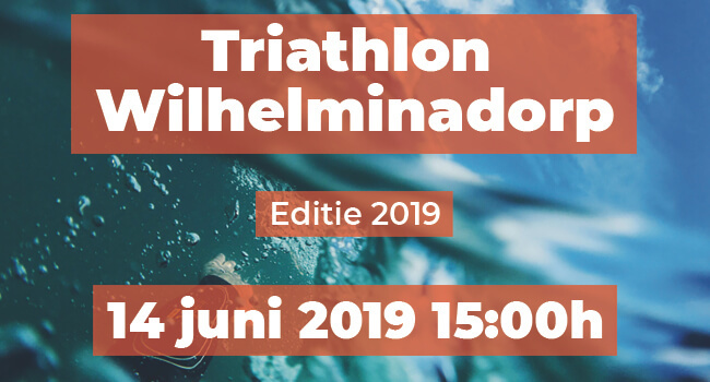 0e9fa94bc97 Triathlon Wilhelminadorp 04-06-2019 - 14H @ Wilhelminadorp